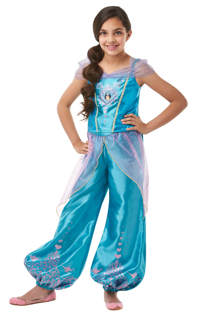 Child's Gem Princess Jasmine Girls outfit.