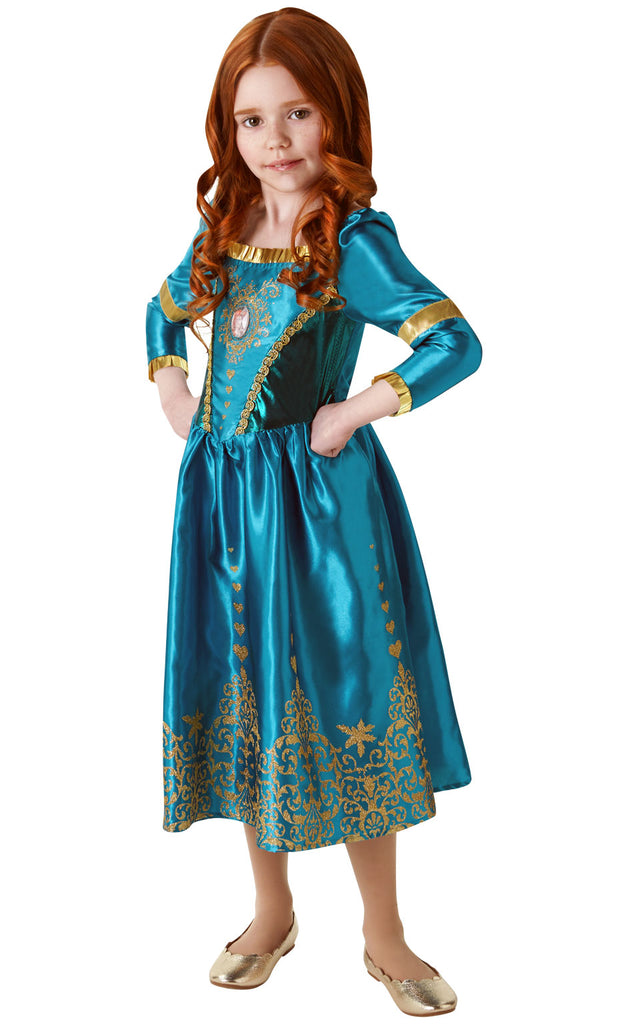 Gem Princess Merida Brave girls costume.