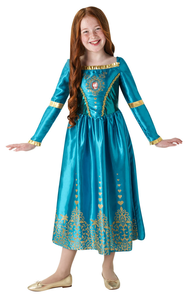 Gem Princess Merida Brave outfit for kids.
