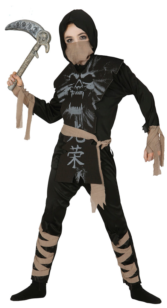 Ghost Ninja Costume Boys