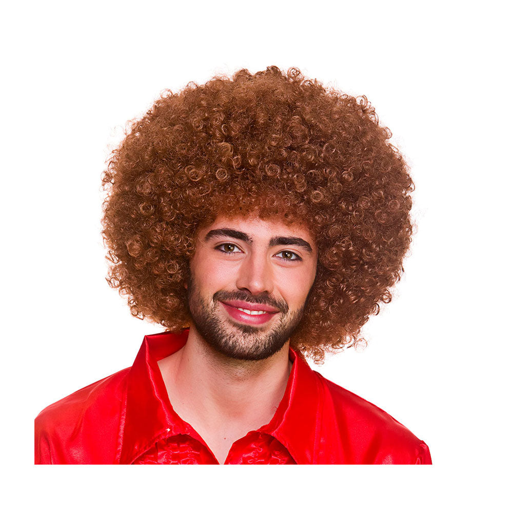 Giant Afro Wig Brown