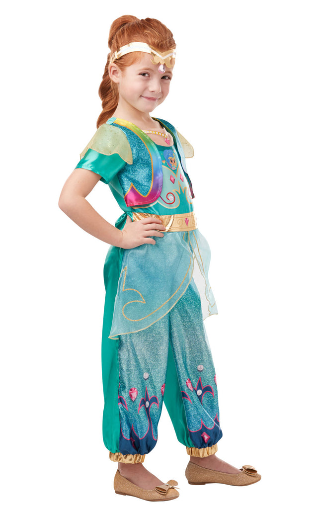 Deluxe Shine girls Costume for Kids