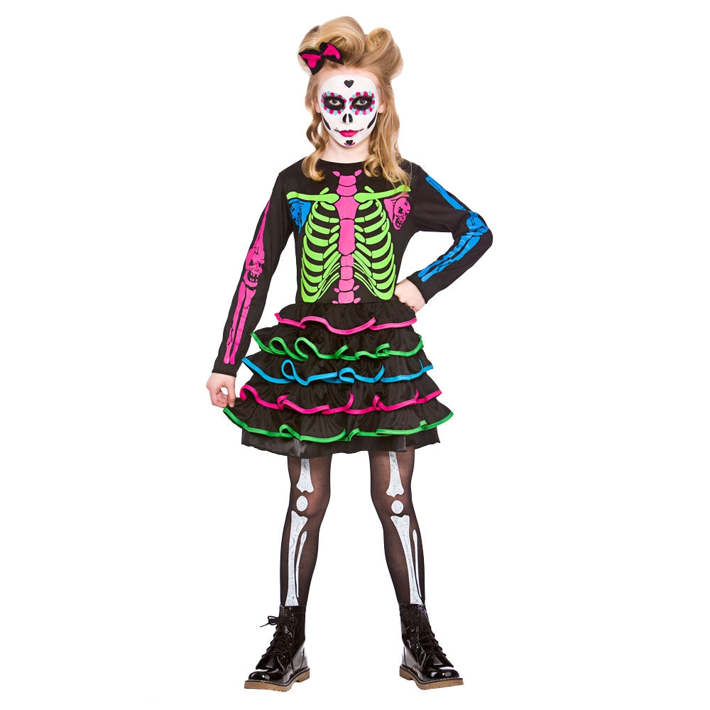 Sweet Skully Chick Day Of the Dead Costume