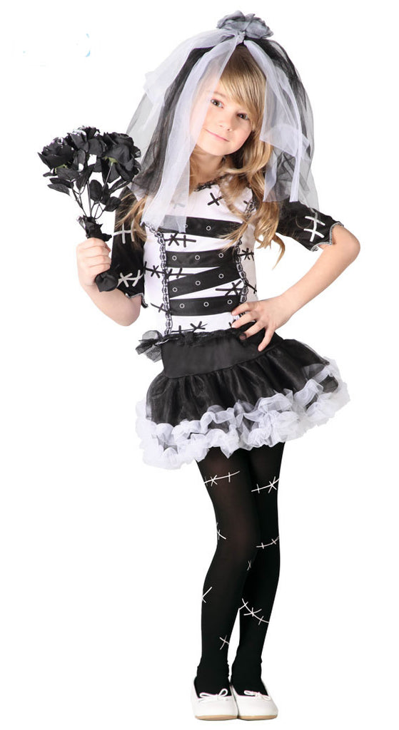 Monster Bride children's Costume