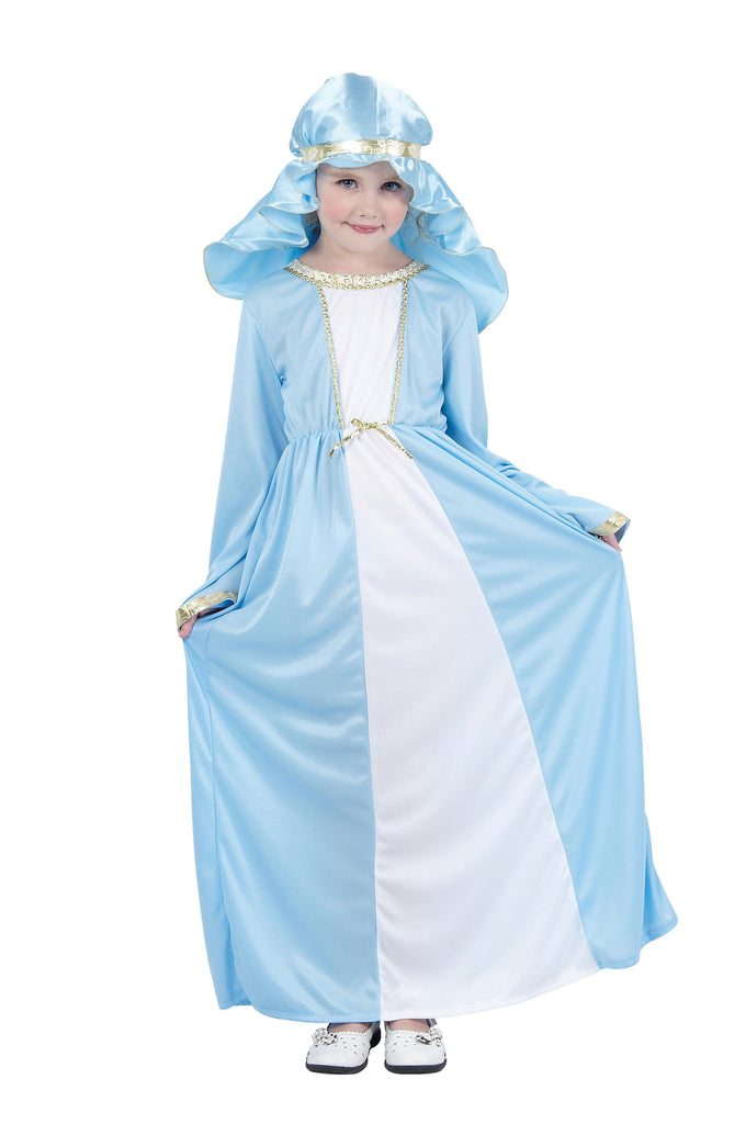 Girls Mary Costume Nativity Play Costume