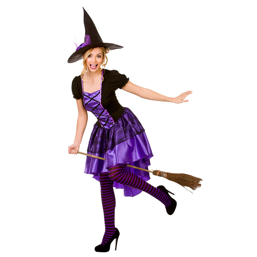 Adult Glamorous Witch fancy dress costume