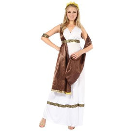 Goddess With Brown Sash