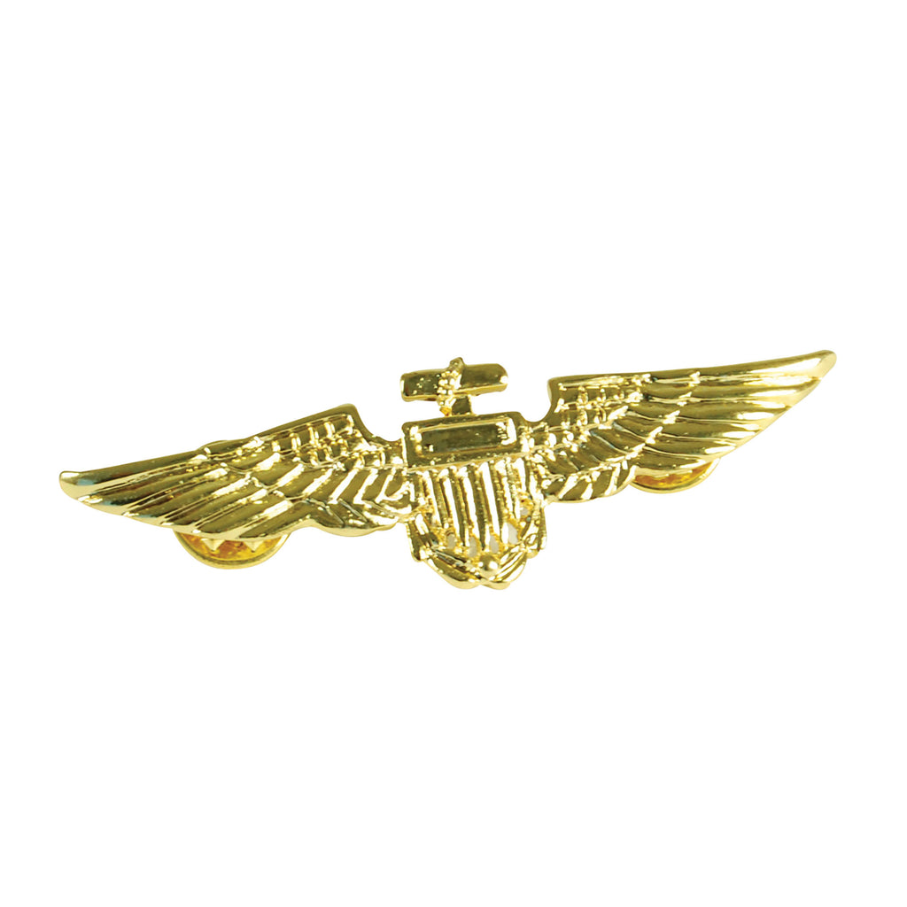Pilots Gold Aviator Badge Costume Accessory