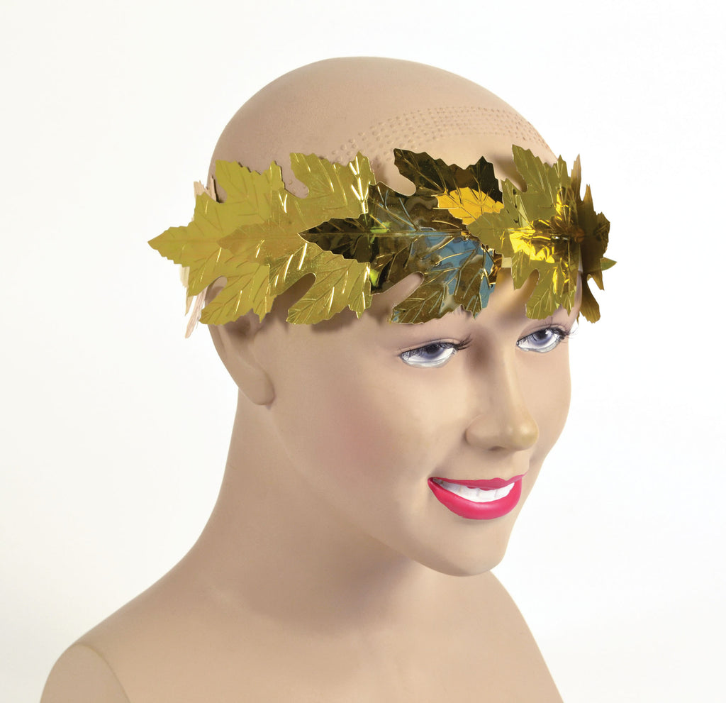 Gold Roman Laurel Leaf Wreath