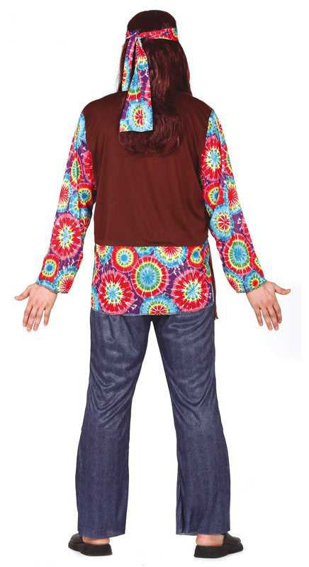 Good Vibes Hippie Costume Adult
