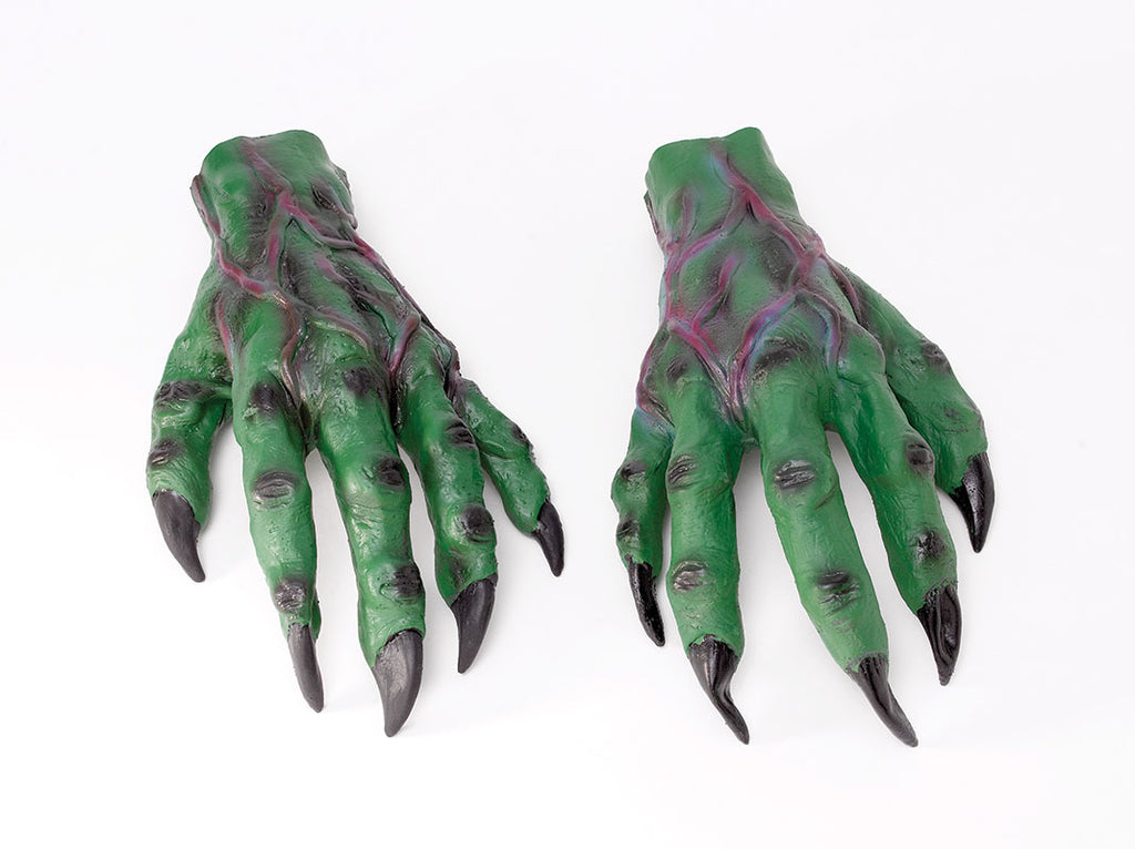 Green Horror Monster Hands
