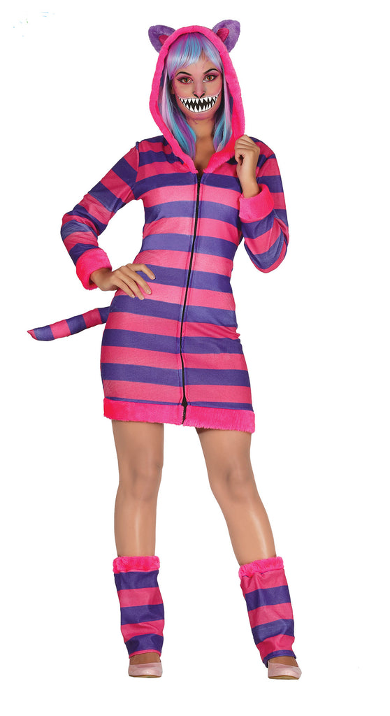 Grinning Cheshire Cat Costume Adult