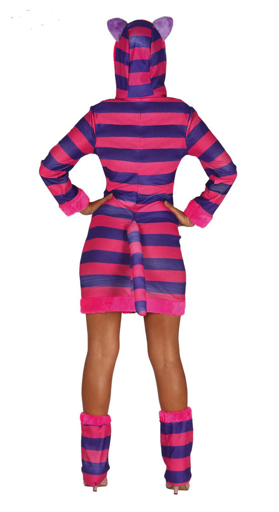 Grinning Cheshire Cat Costume Adult rear