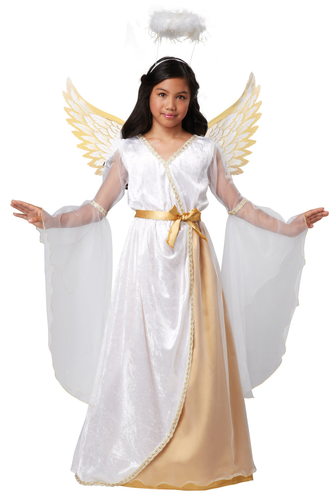 Girls Guardian Angel Nativity Costume