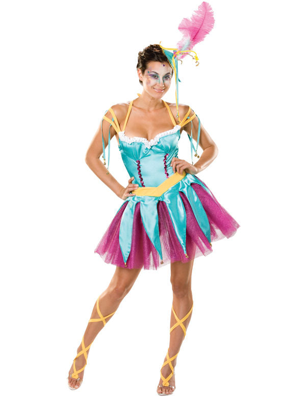 Harlequin Holly Ladies Circus Costume or outfit