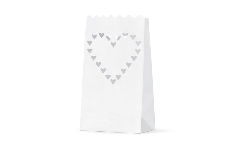 Heart Candle Bag decoration