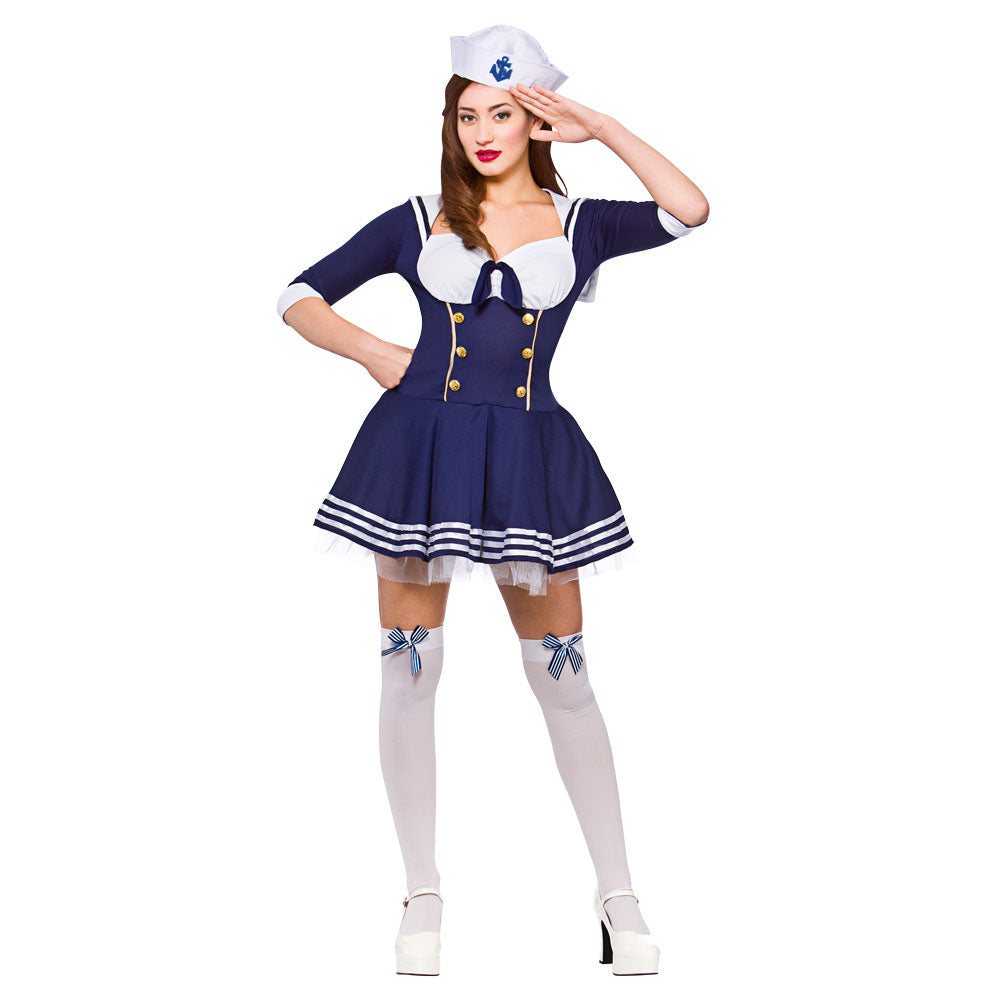 Hello Sailor adult costume for women