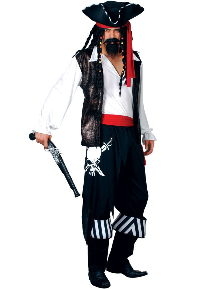 High Seas Buccaneer Pirate Costume