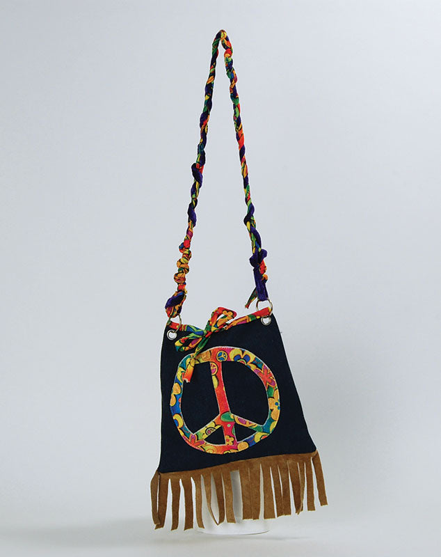 Hippie Handbag costume accessory