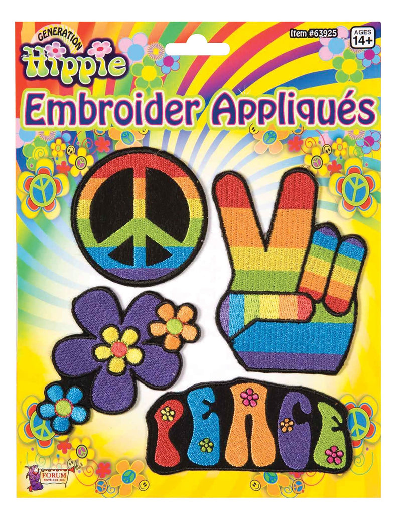 1960's Hippie Appliques or Patches