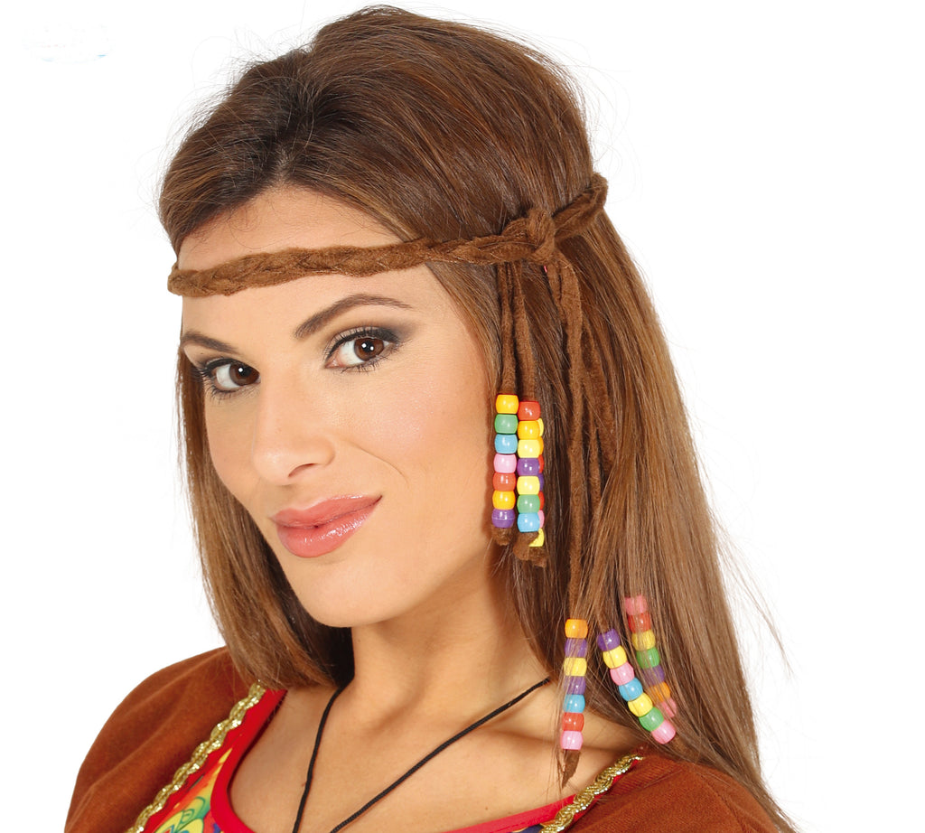 Hippie Headband 1960's fancy dress costume accessory