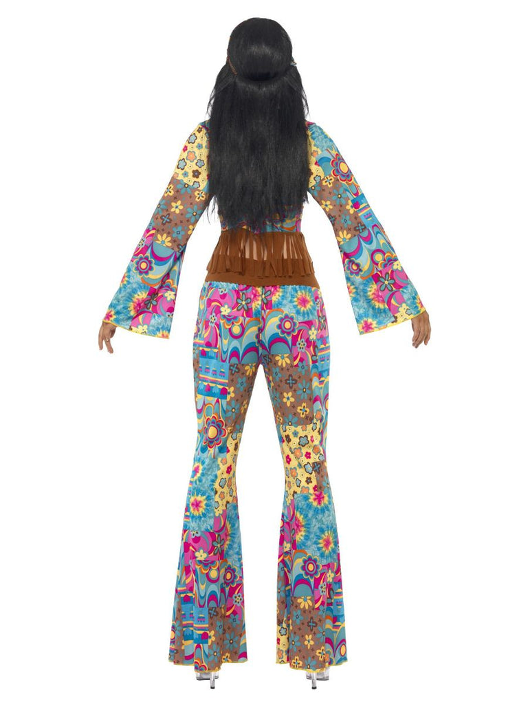 Hippy Flower Power Ladies Costume
