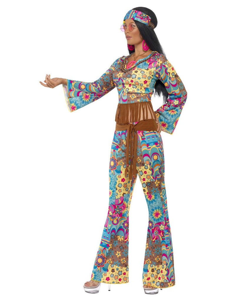 1960's Hippy Flower Power Ladies outfit.