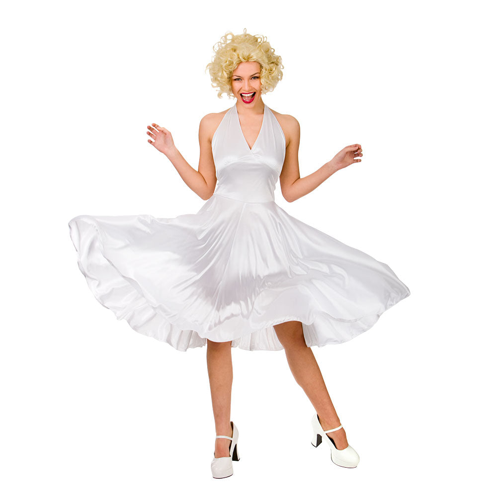 Hollywood Starlet Marilyn Monroe ladies Costume