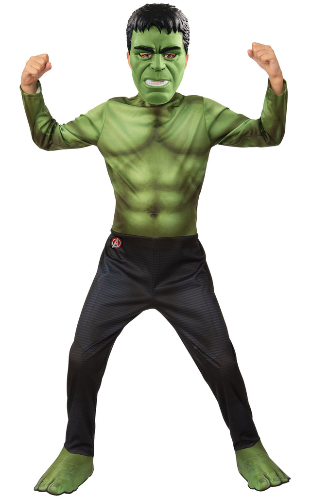 Kids Hulk Costume Boys from Avengers Movie