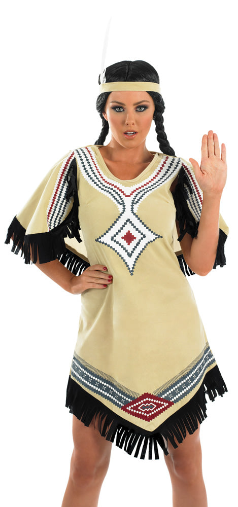 Indian Scout Costume for women.