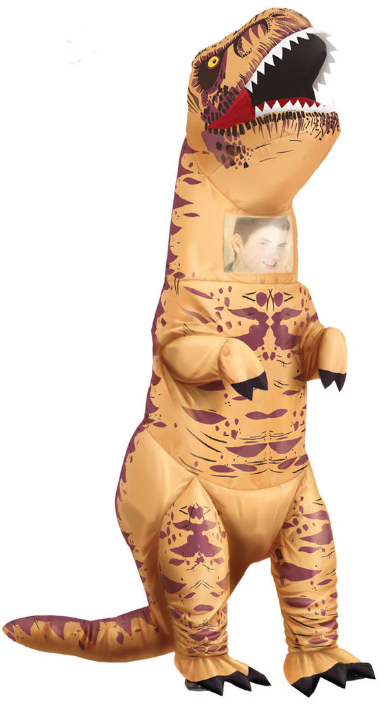 Inflatable T Rex Dinosaur Costume Adult