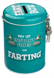 Instant Fines Pay Up Tin, Farting