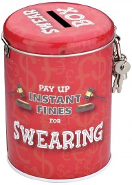 Instant Fines Pay Up Swearing Tin Funny Gifts