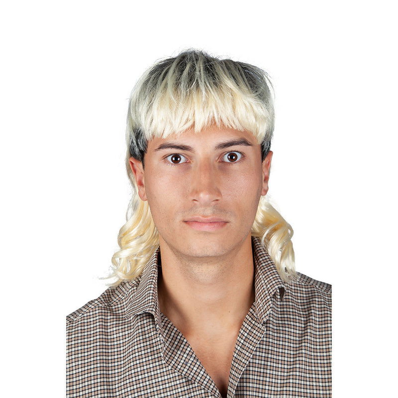 Joe Exotic Mullet Wig from show Tiger King