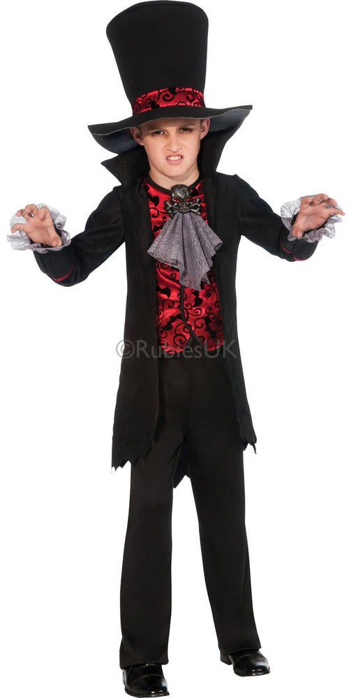 Boys Vampire Lord Halloween Costume