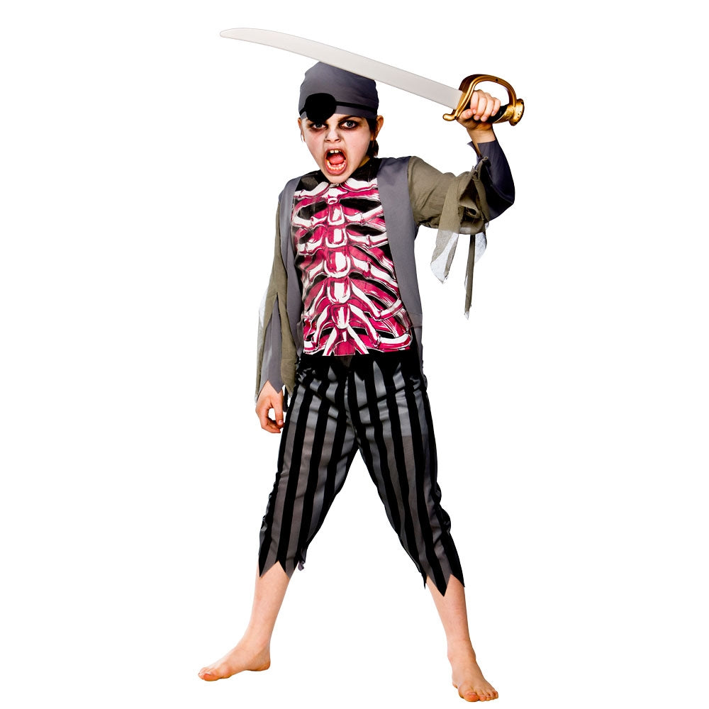 Kid's Zombie Pirate Costume