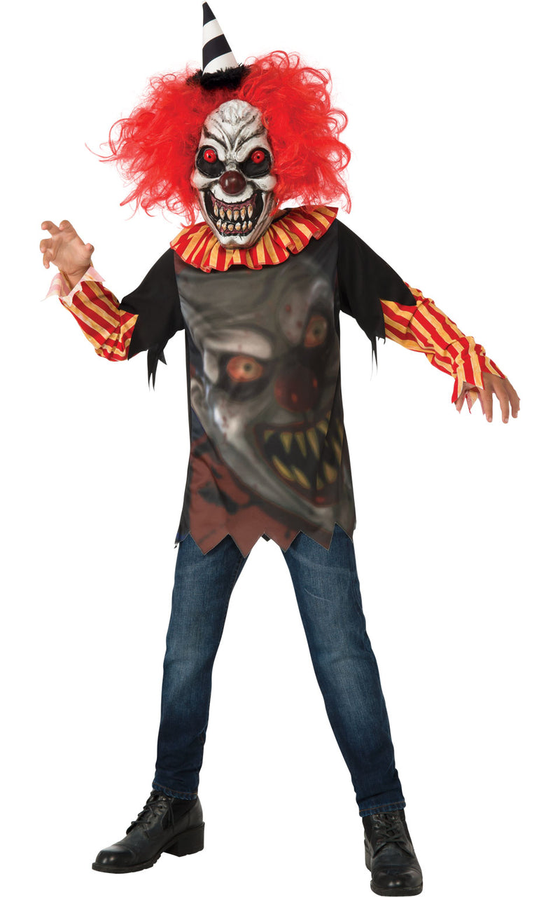 Kids Freako the Clown Halloween Outfit
