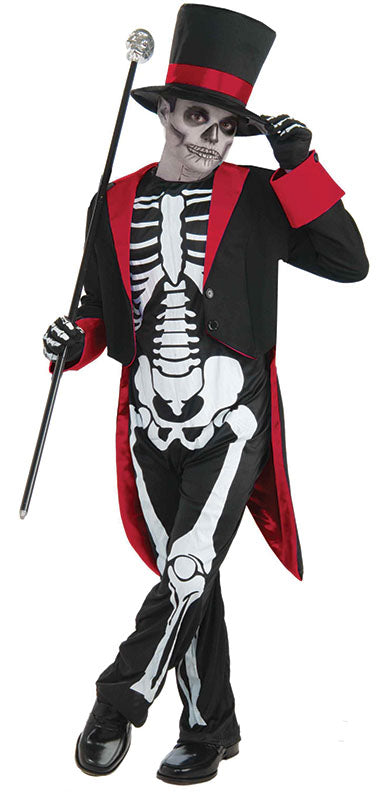 Kids Mr Bone Jangles Skeleton Costume