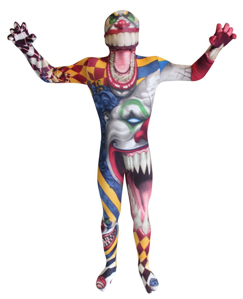 Children's Clown Morphsuit Costume