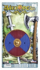 Kids Viking Weapon Set sword and shield fancy dress accessory.