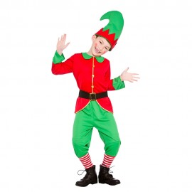 Boys Workshop Elf Kid Costume