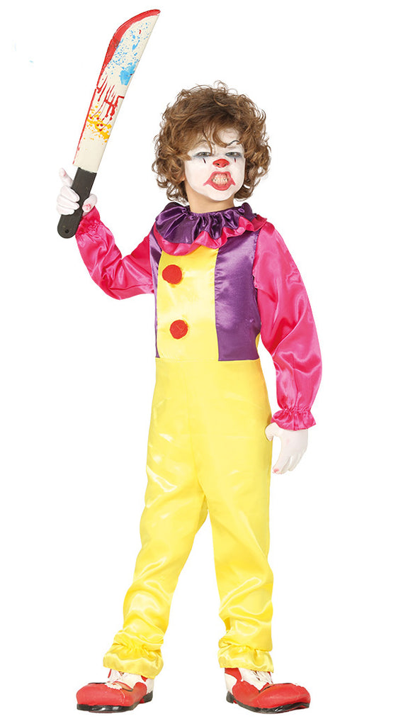 Killer Clown Costume Boys