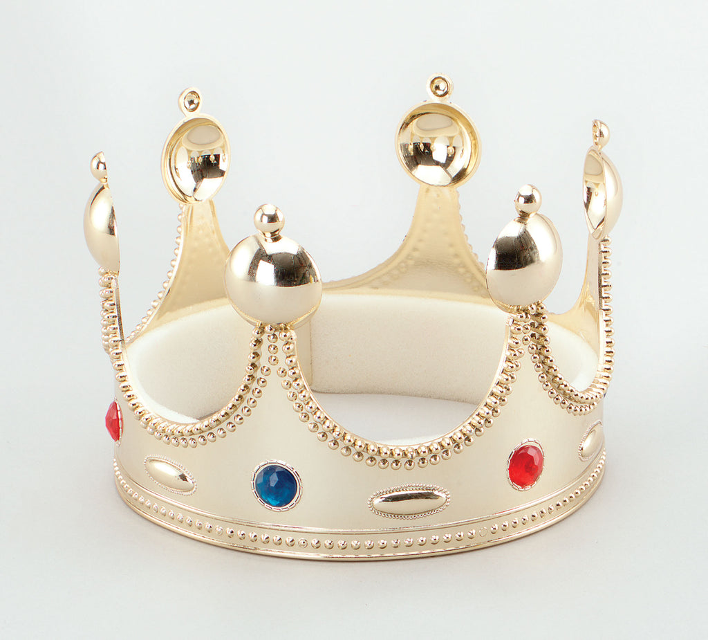 King's Superior Crown Gold for fancy dress costume.