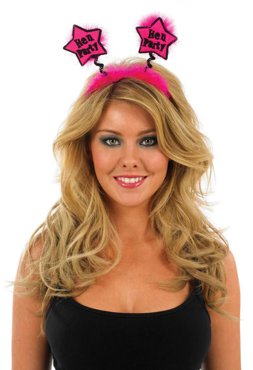 Ladies Hen Party Star Boppers