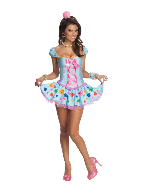 Ladies Sweetheart Loveheart costume