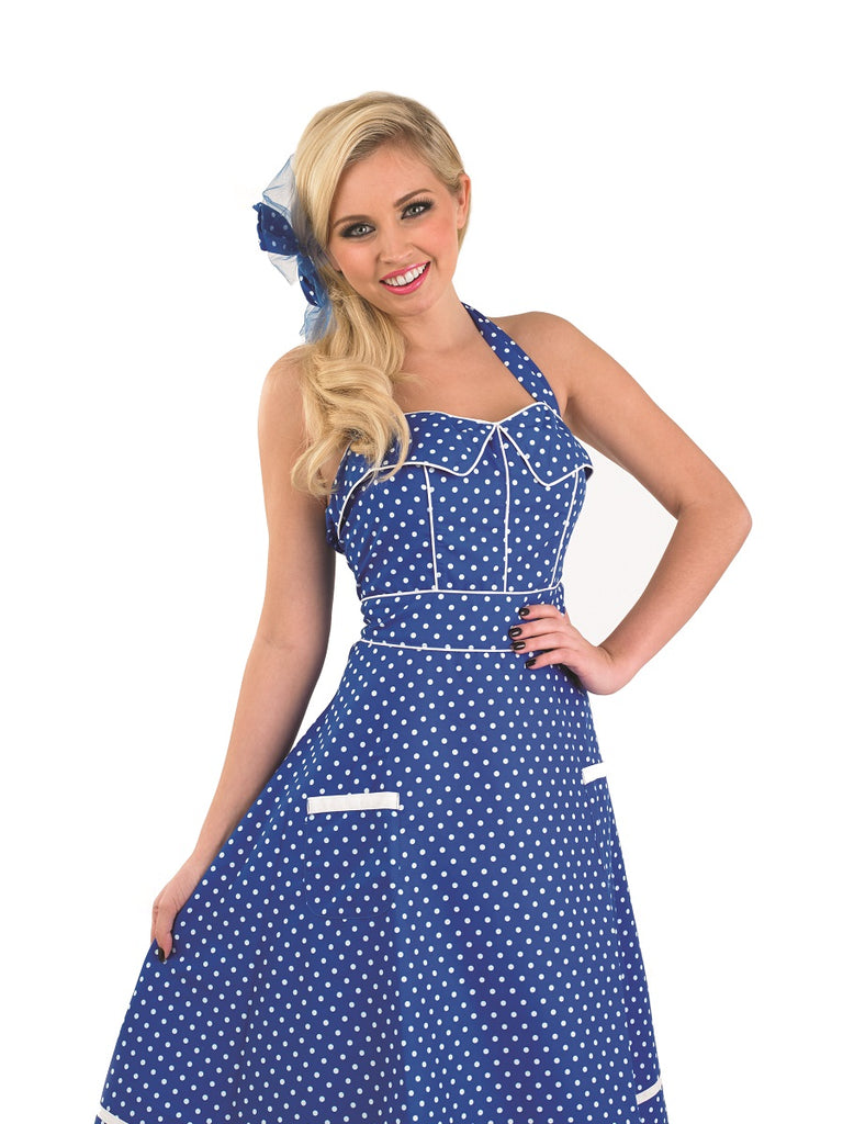 50's Blue Dress Costume