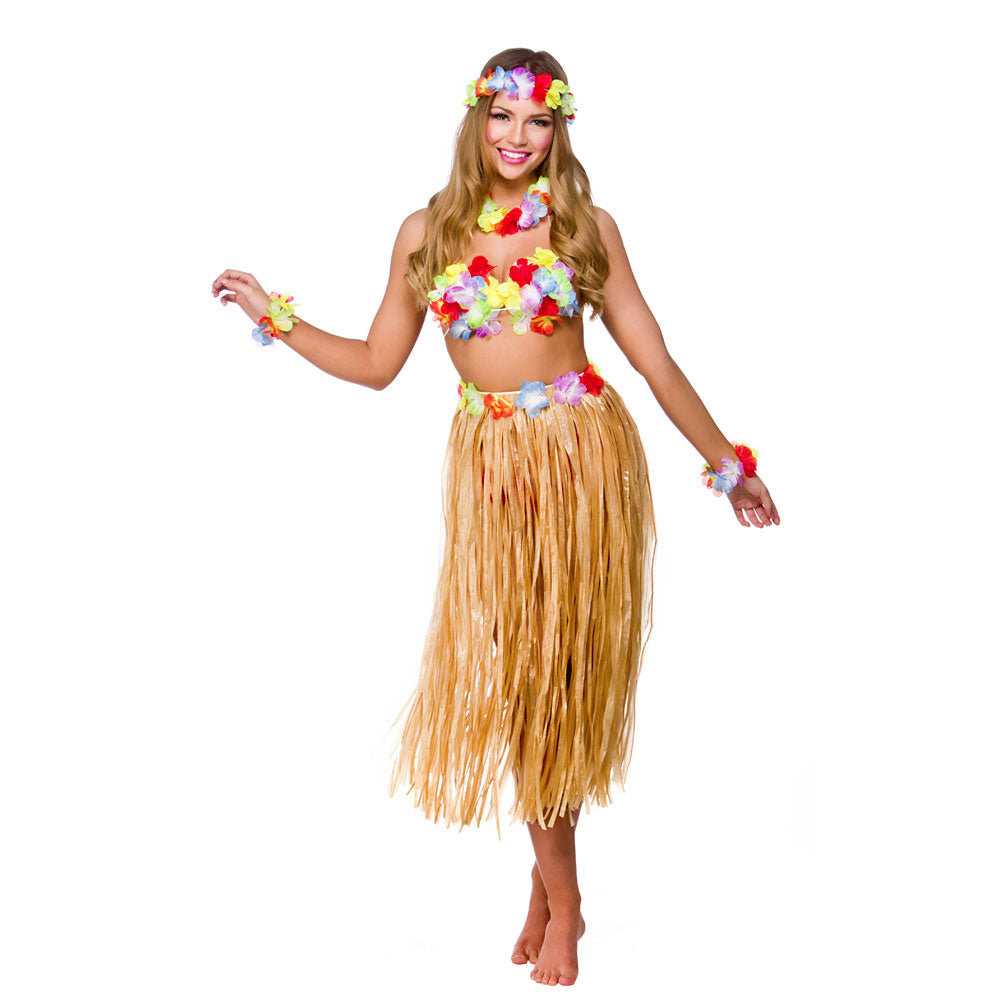 Ladies Hawaiian Party Girl Costume Kit