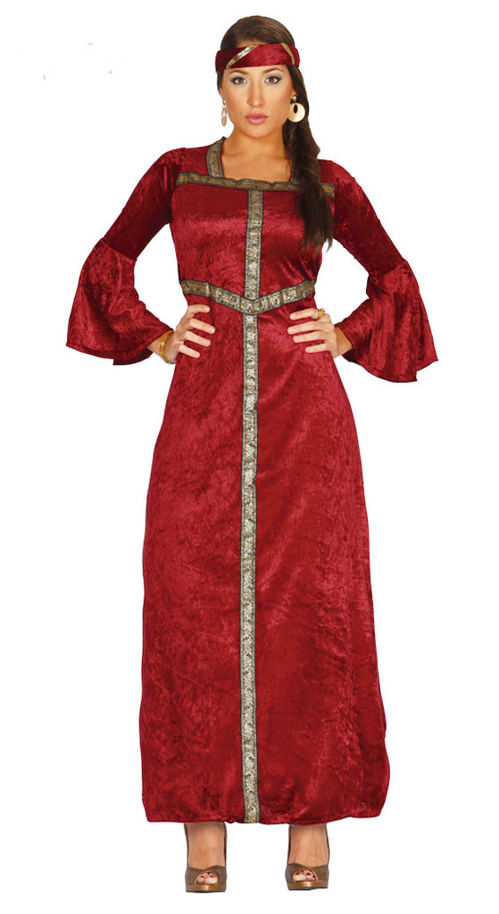 You'll certainly be a faire maiden for your renaissance themed fancy dress party in this women's Renaissance Maiden Costume