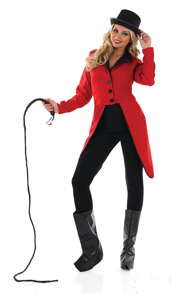 Ladies Ringmaster Jacket Red Outfit