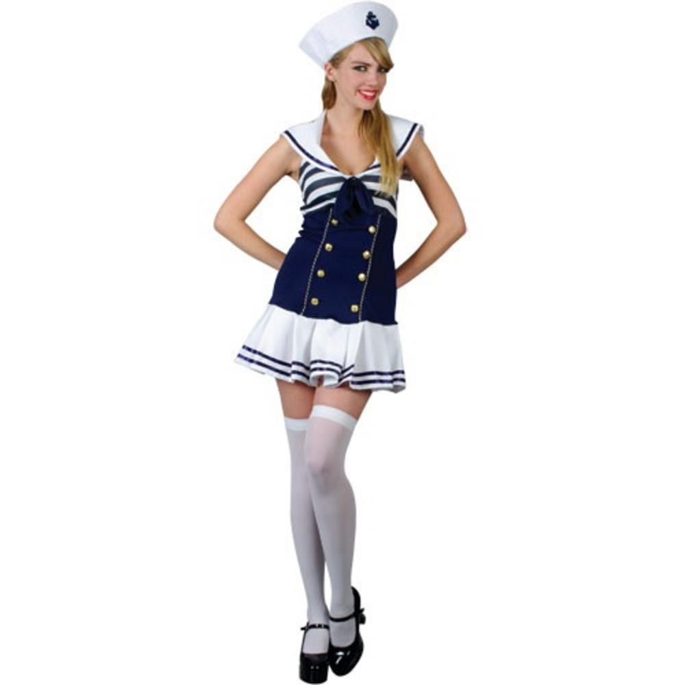 Sexy Saucy Sailor Girl Fancy Dress Costume
